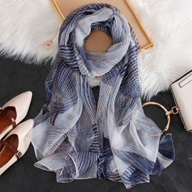Ericdress Charmeuse Stripe Scarf
