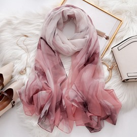 Ericdress Scarf Ladylike Gradient Scarf