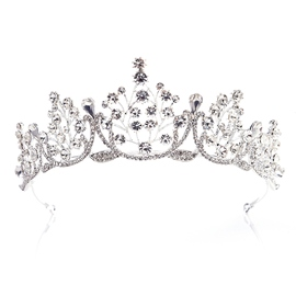 European Crown Tiara Hair Accessories (Wedding)