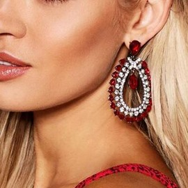 Ericdress Diamante Luxury Earrings