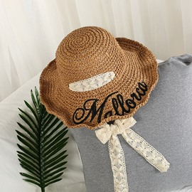 Ericdress 2019 New Style Straw Spring Letter Hat