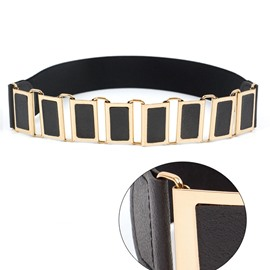 Ericdress Fashion Hidden Button PU Belt For Women