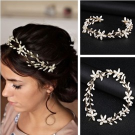 Handmade Head Flower Wedding Hair Tiara