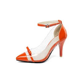 Ericdress Bow Stiletto Heel Buckle Women's Pumps