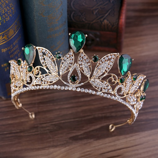 European Crown E-Plating Hair Accessories (Wedding)