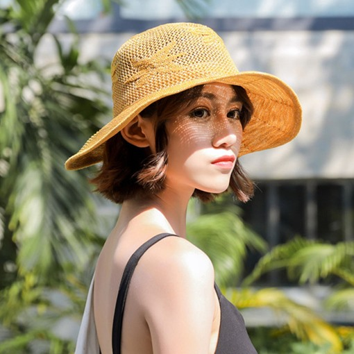 Ericdress Cotton Hollow Out Hat