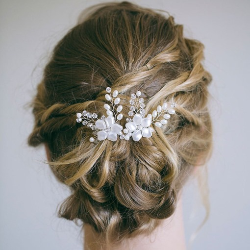 Handmade Head Flower Beading Hair Accessories (Wedding)