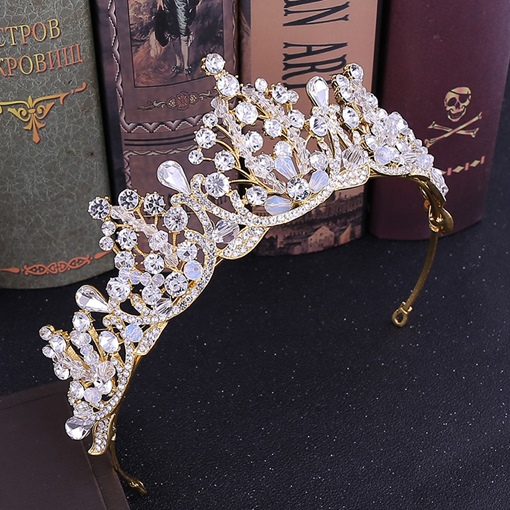 Handmade Crown Korean Hair Accessories (Wedding)