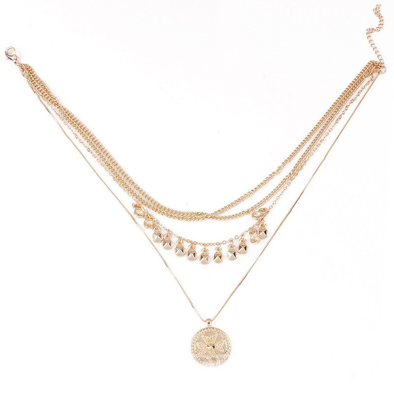 Ericdress Plain Diamante Luxury Necklaces For Women