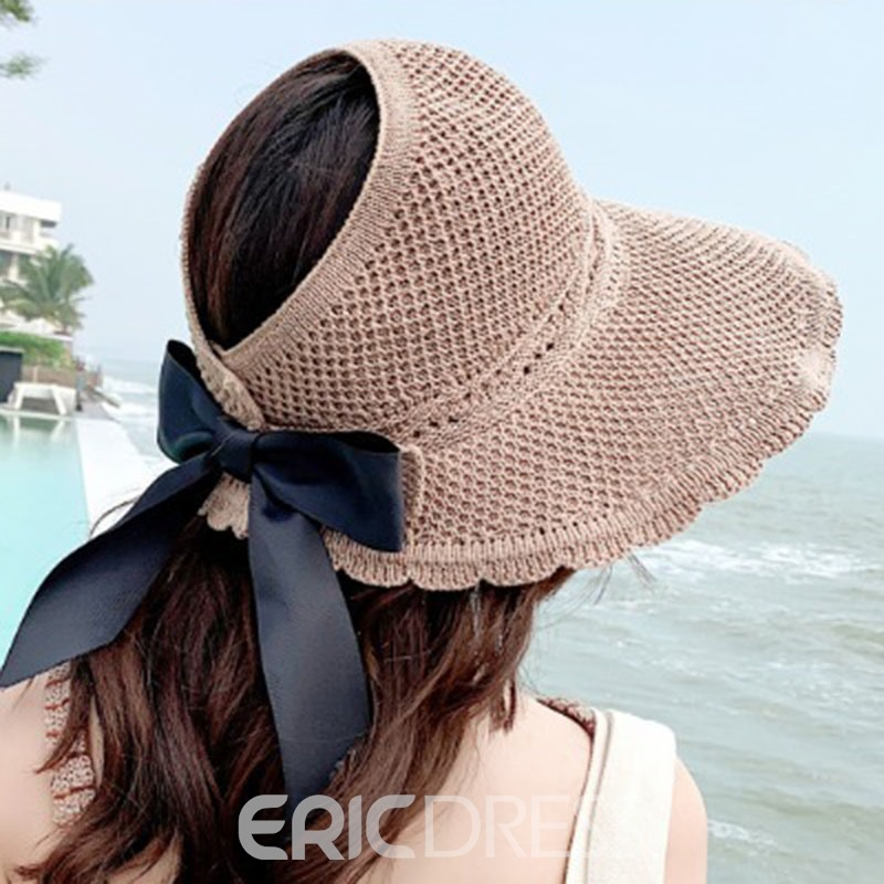 Ericdress Bowknot Sweet Plain Fall Hat