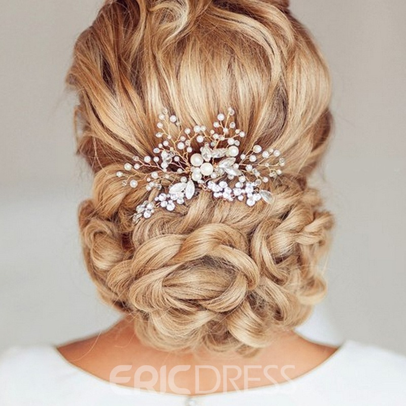 Handmade Pearls Head Flower Hair Accessories (Wedding)