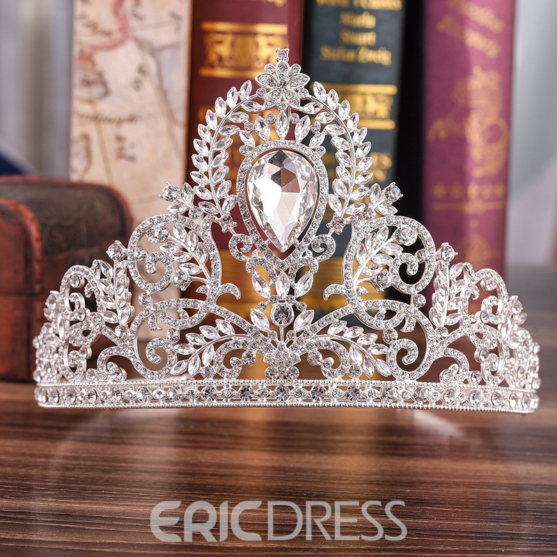 European Diamante Tiara Hair Accessories (Wedding)