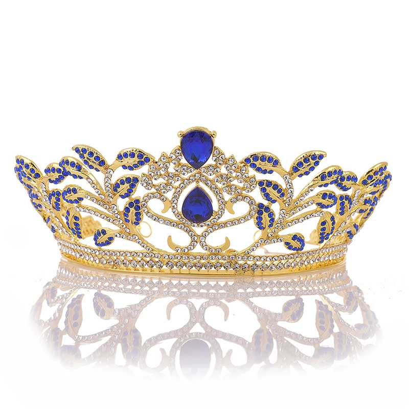 Tiara Crown Diamante Hair Accessories (Wedding)