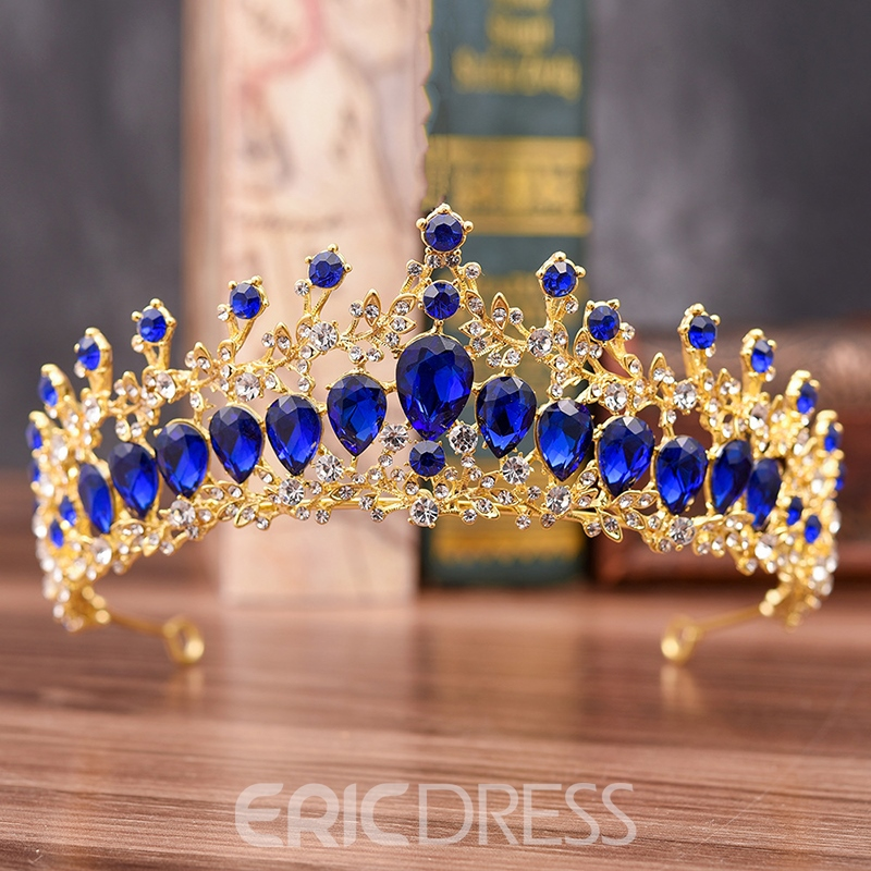 Diamante Crown Tiara Hair Wedding Accessories