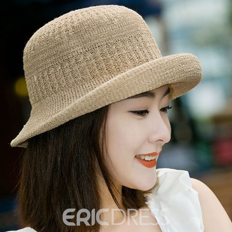 Ericdress Sweet Cotton Summer Plain Hat