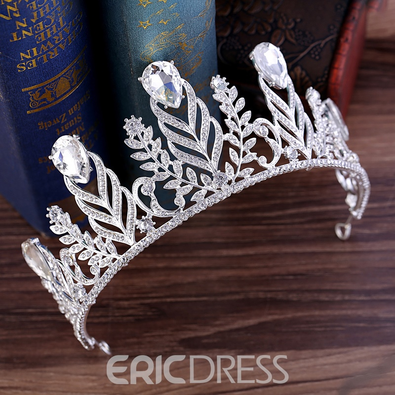 European Tiara Crown Hair Accessories (Wedding)