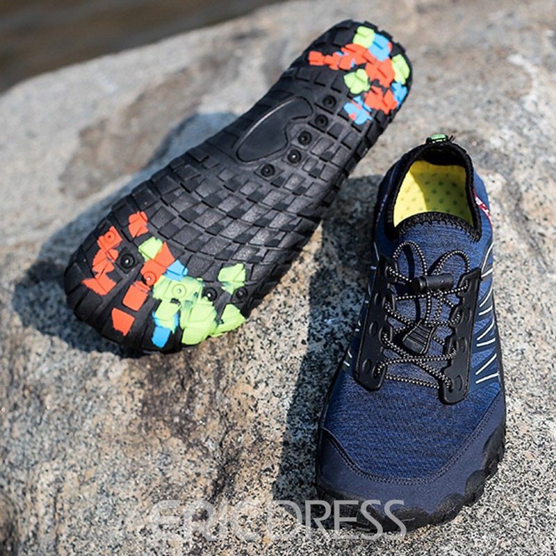 Ericdress Spandex Patchwork Lace-Up Men's Water Shoes
