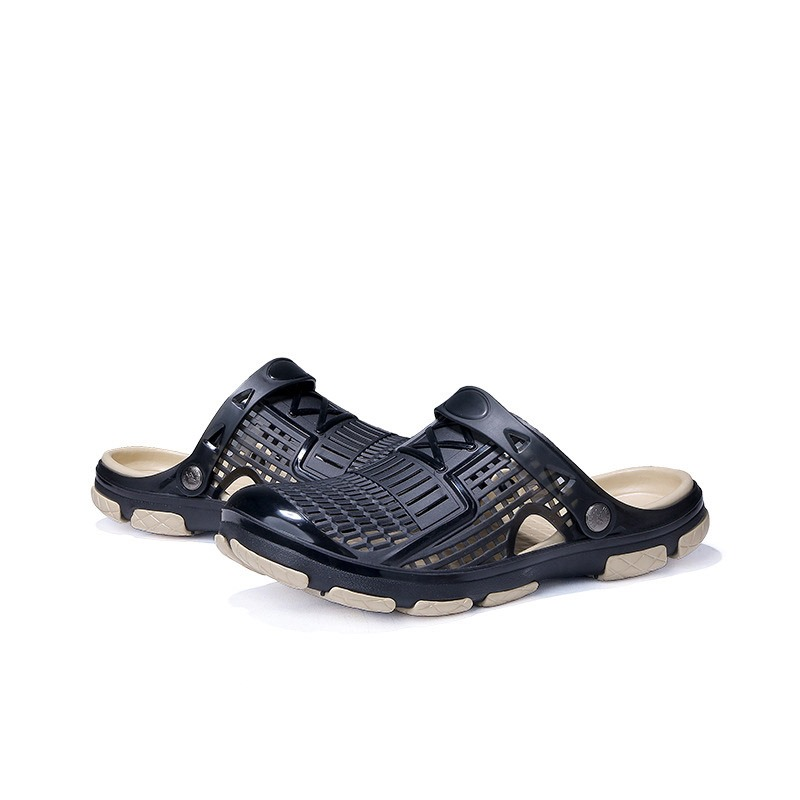 Ericdress PVC Slip-On Closed Toe Men's Sandals
