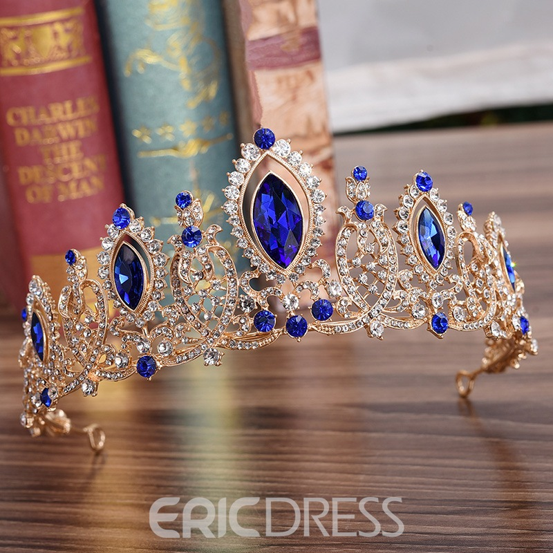 European Crown Diamante Hair Accessories (Wedding)