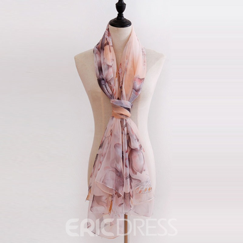 Ericdress Ladylike Scarf Floral Scarf