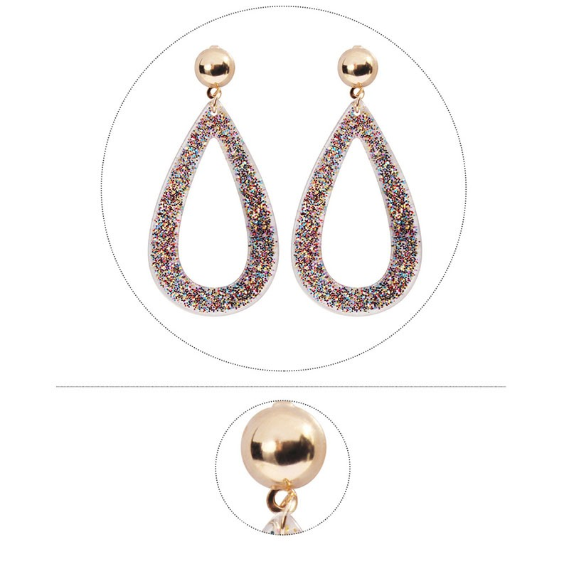Ericdress Shining Alloy Prom Earrings