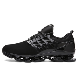 Ericdress PU Lace-Up Round Toe Men's Running Shoes