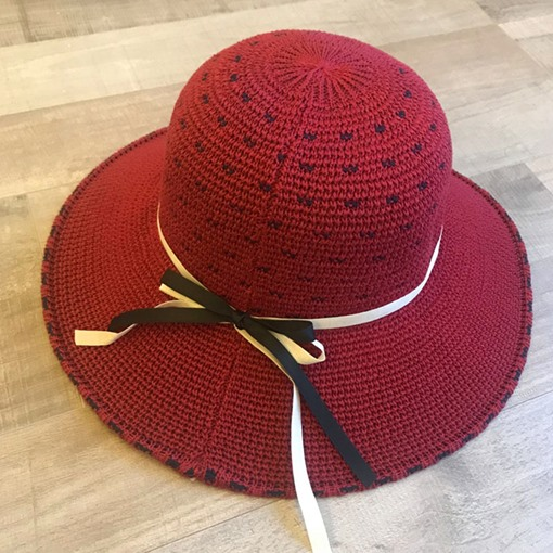 Ericdress Bowknot Polka Dots Hat For Women