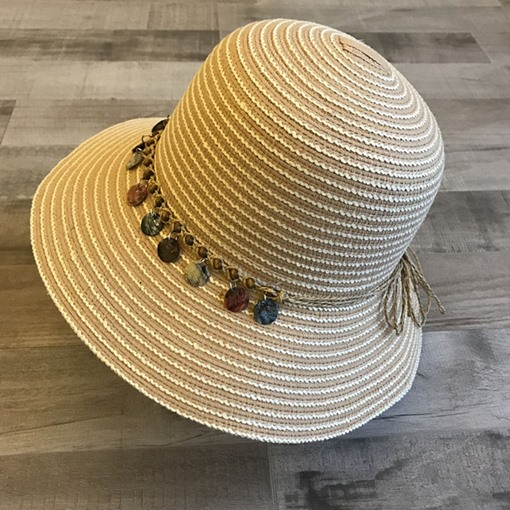 Ericdress Shell Stripe Hat