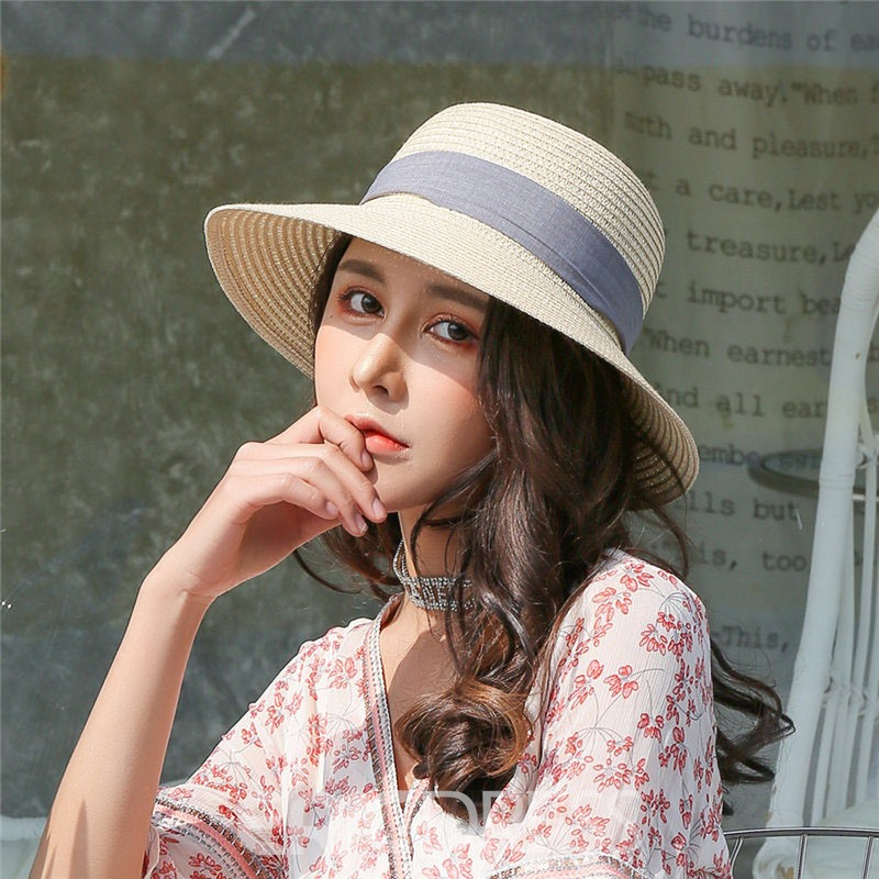 Ericdress Straw Plain Fall Hat For Women