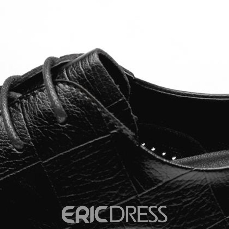 Ericdress Plain Hollow Pointed Toe Men's Shoes