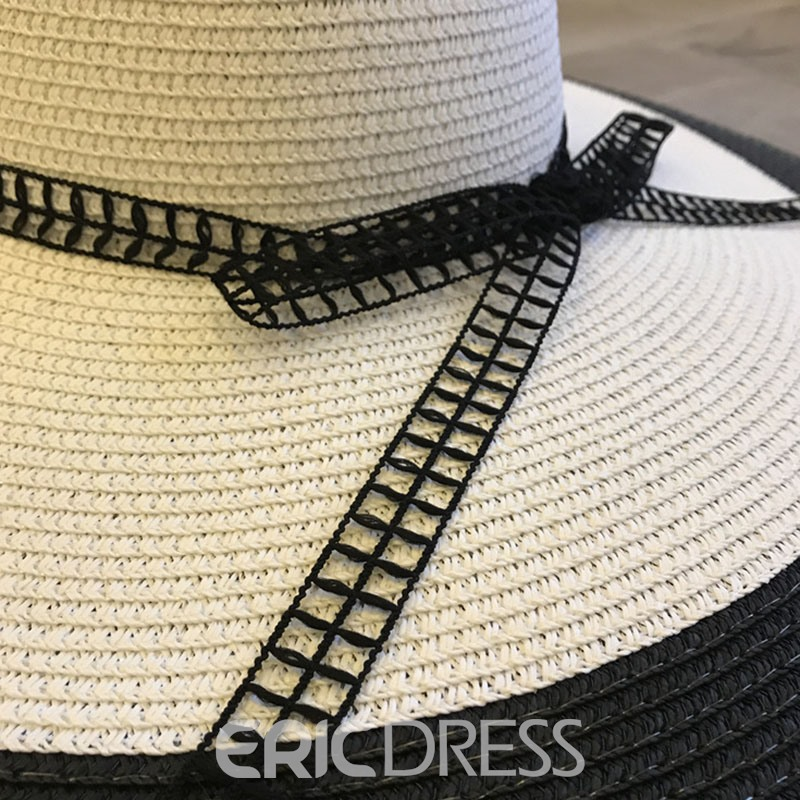 Ericdress Bowknot 2019 Straw Hat