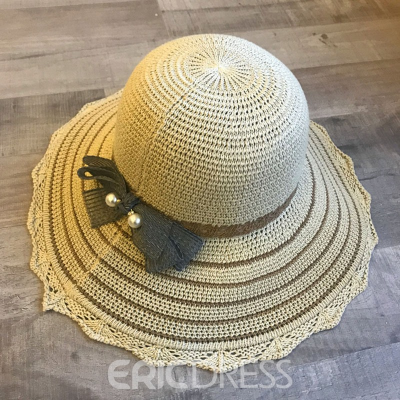 Ericdress Bowknot Cotton Bucket Hat