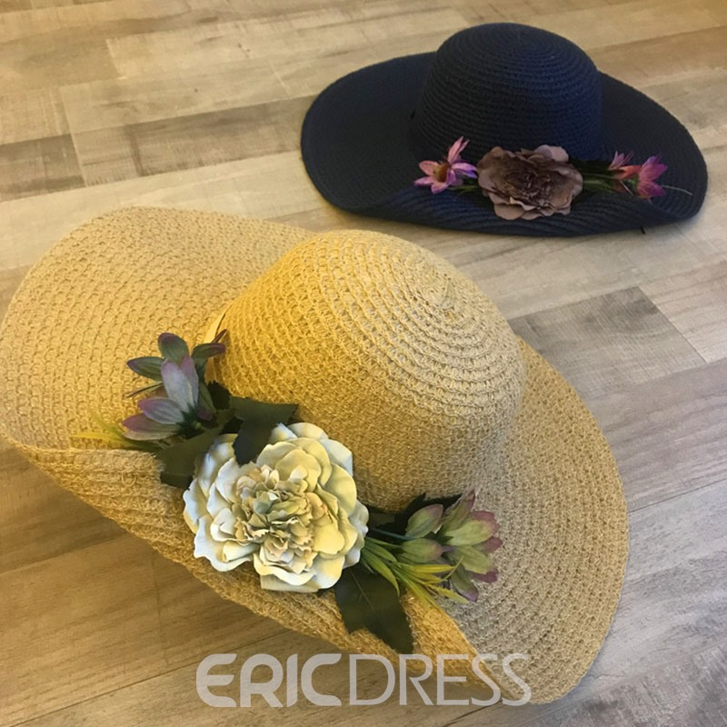 Ericdress Holiday Straw Hat