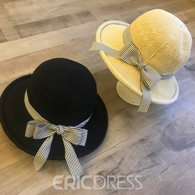 Ericdress Bowknot Cotton Sunhat