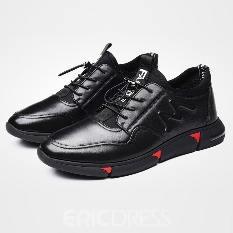 Ericdress Plain Elastic Band Round Toe Men's Skate Shoes