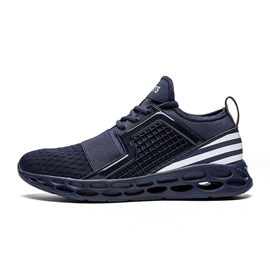 Ericdress Mesh Color Block Round Toe Men's Sports Shoes