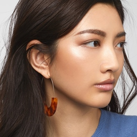Ericdress Amber Anniversary Earrings