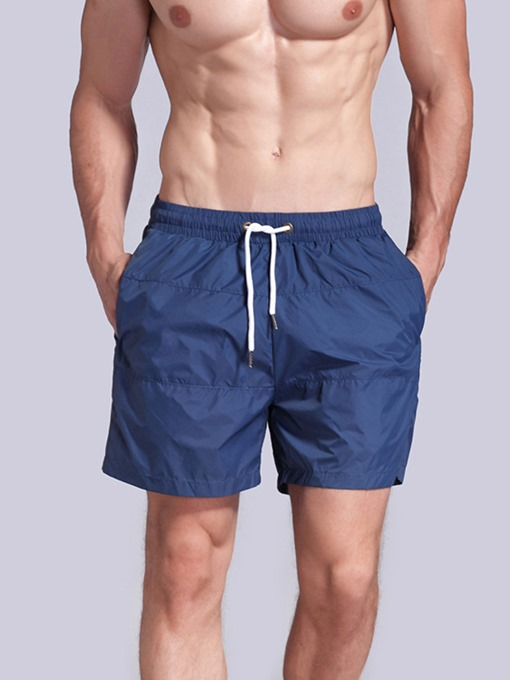 Ericdress Men Solid Quick Dry Shorts Basketball Gym Sports Pants