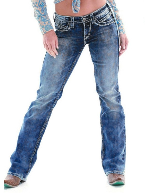 Ericdress Loose Womens Jeans
