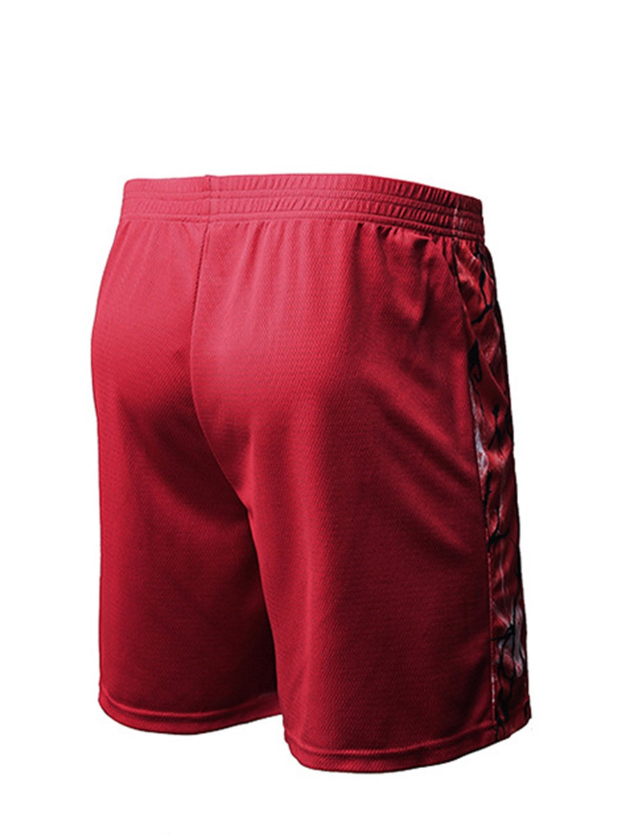 Ericdress Men Quick Dry Basketball Shorts Running Gym Sports Pants