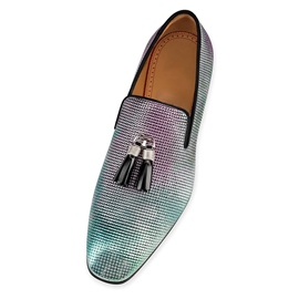 Ericdress Sequin Square Toe Slip-On Men's Dress Shoes