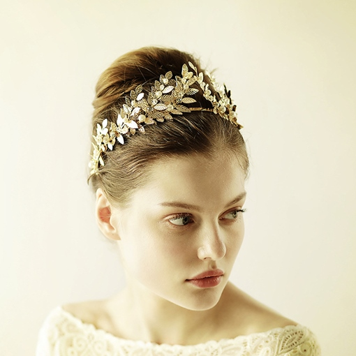 Handmade Crown Vintage Hair Accessories (Wedding)