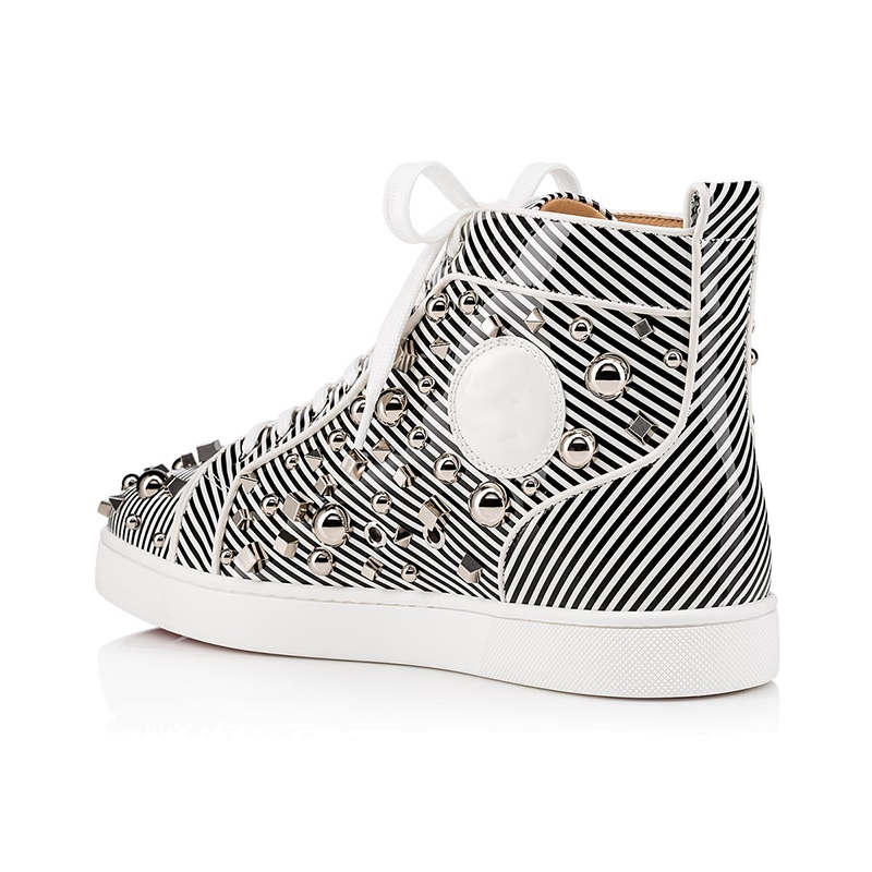 Ericdress Sequin Stripe Round Toe Men's Skate Shoes