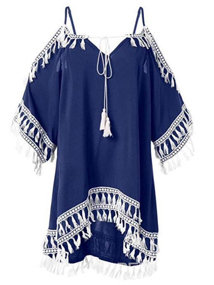 Ericdress Above Knee Tassel Beach Look Beach Dresses