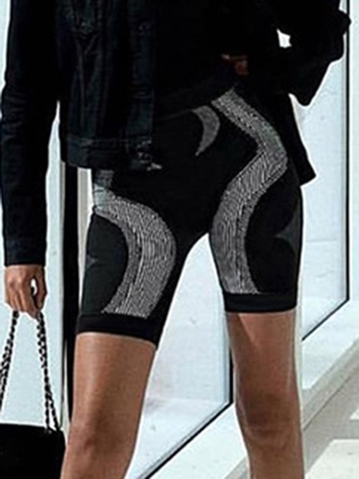 Ericdress Color Block Breathable Patchwork Summer Gym Sports Shorts