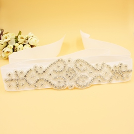 Galloon Regular(2-4cm) Rhinestone Bridal Belts