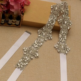 Regular(2-4cm) Rhinestones Bridal Belt