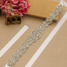Ribbon Regular(2-4cm) Rhinestone Bridal Belts