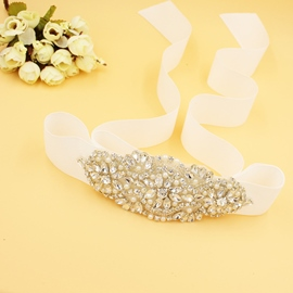 Regular(2-4cm) Galloon Rhinestone Bridal Belts