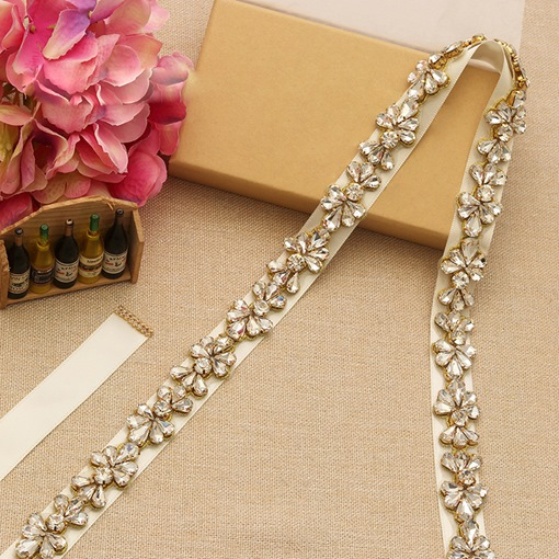 Regular(2-4cm) Rhinestone Bridal Belts